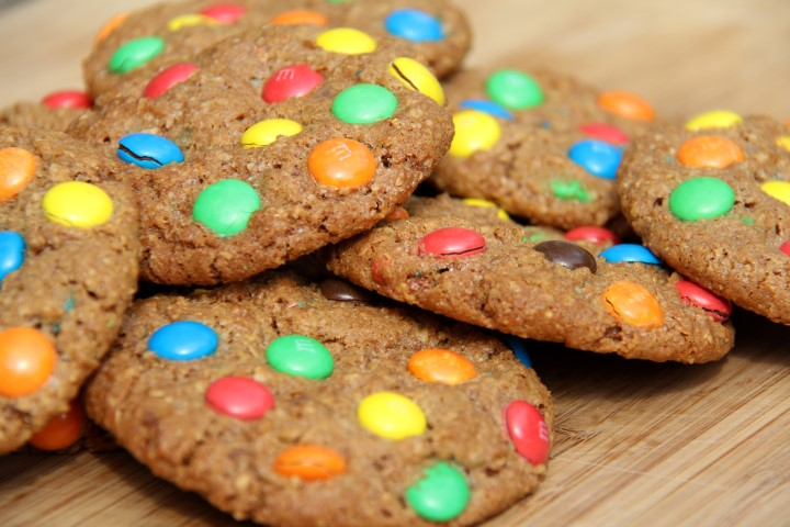 M&M-oat coockies